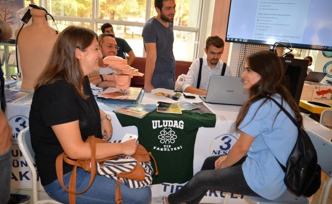 Aday öğrenciler Uludağ'la tanışıyor