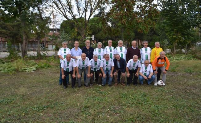 Bursa'da 50 yıl sonra aynı yerde futbol oynadılar