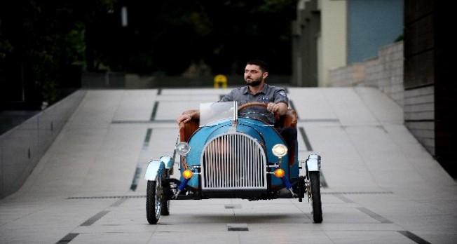 Bursa'da elektrikle çalışabilen araç üretildi