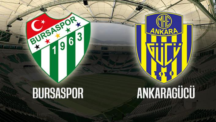 Bursaspor - Ankaragücü biletleri satışa çıkıyor