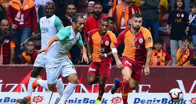 Bursaspor'dan Galatasaray'a zirve darbesi!