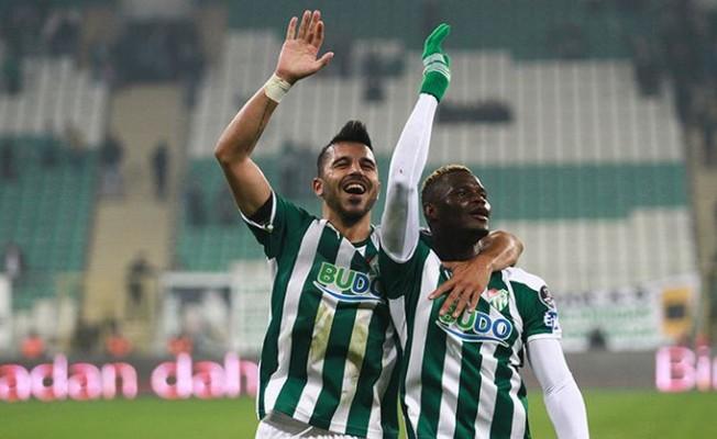 Bursaspor yükselişe geçti yeşil-beyazlılar son 3 maçta 7 puan topladı