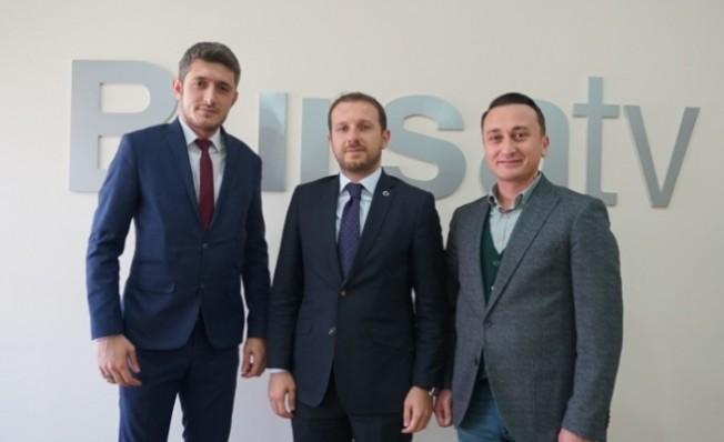 Ahmet Kılıç'tan Bursa Sancak Gazetesi'ne ziyaret