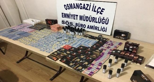 Bursa'da uyarıcı hap alarmı!