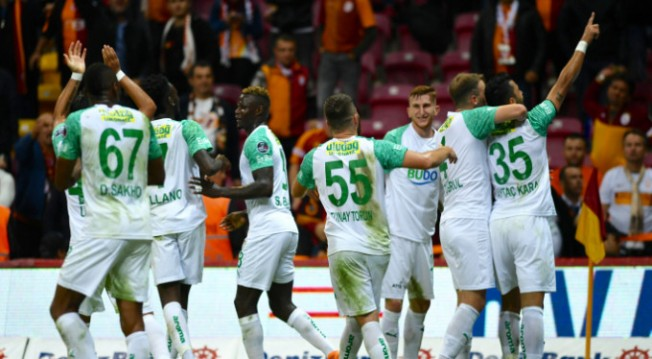 Bursaspor zorlu deplasmanda