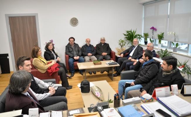 Bursa Uludağ Üniversitesi'nden ESTÜ'ye işbirliği ziyareti