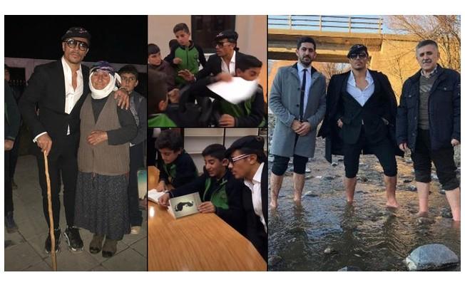 Nusret  memleketi Erzurum'a gitti
