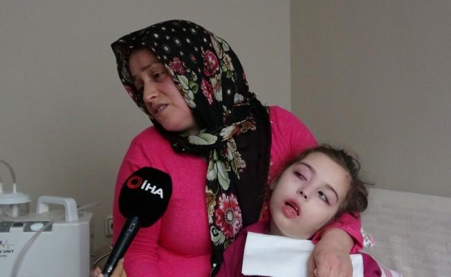 Bursa'da zeytin çekirdeği küçük kızı felç etti