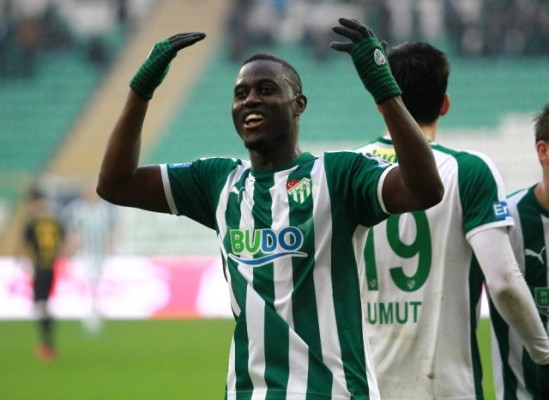Bursaspor'un yeni transferi hayal kırıklığı yarattı
