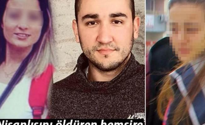 Nişanlısını öldüren hemşire adliyeye götürülürken ağladı