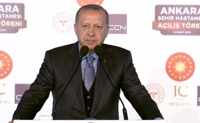 """Cumhurbaşkanı Erdoğan:  """"Her meslek önemlidir"""""""