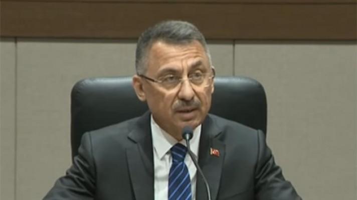 Cumhurbaşkanı Yardımcısı Oktay: Türkiye elinden gelen desteği vermeye hazır