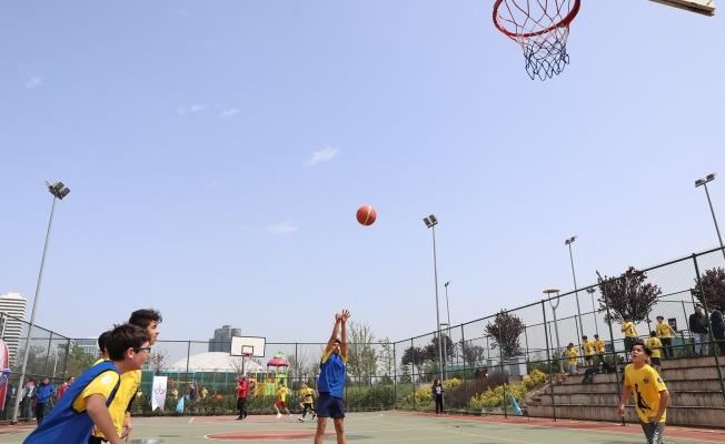 Bursa'da Basketbol Şenliği başladı