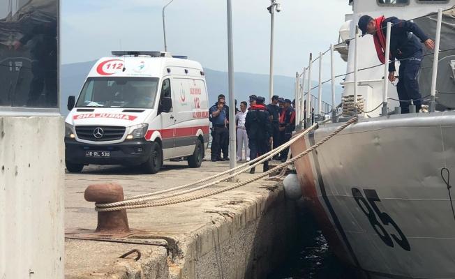 Bursa'da denizde facia!