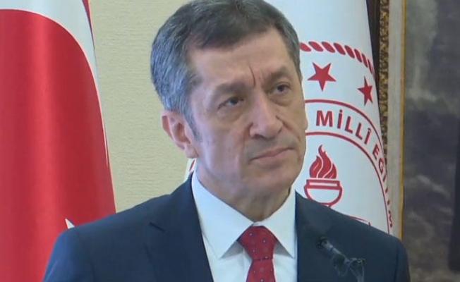 Milli Eğitim Bakanı Selçuk'tan açıklama
