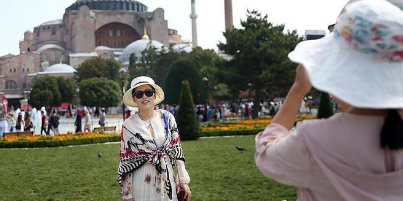 Yabancı turist sayısında artış