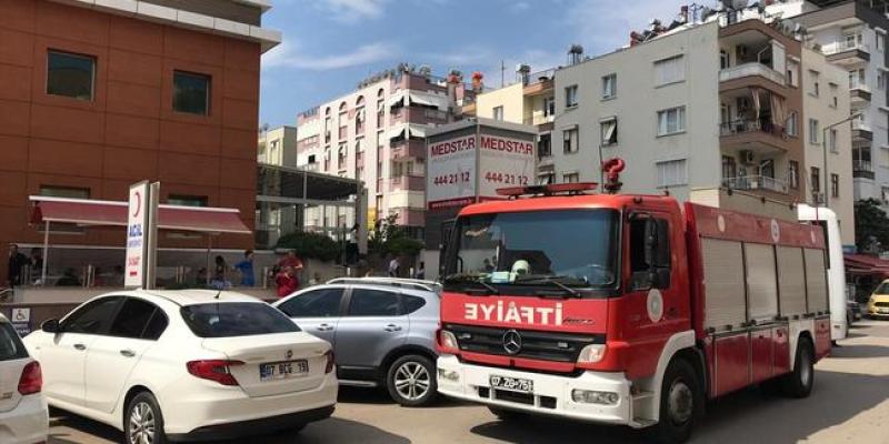 Antalya'da hastanede patlama: 1 ölü, 3 yaralı