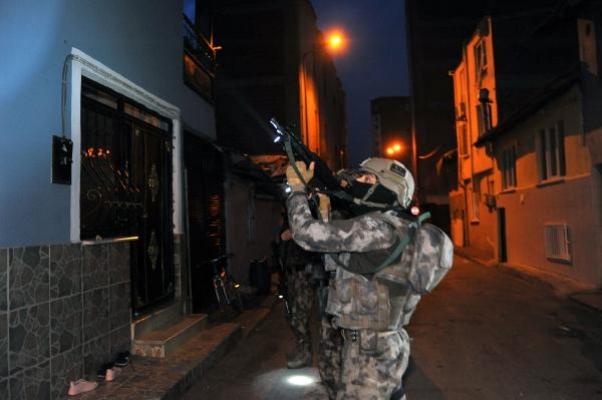 Bursa'da uyuşturucu satıcılarına 'Çekirge' operasyonu