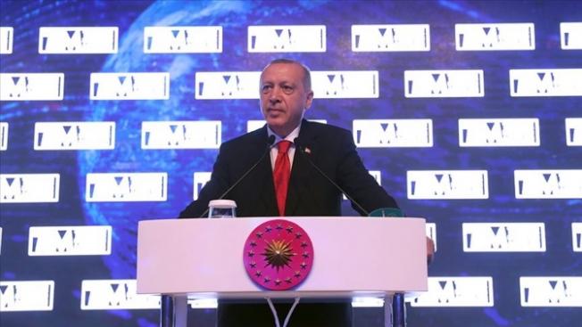 Cumhurbaşkanı Erdoğan'dan önemli meajlar