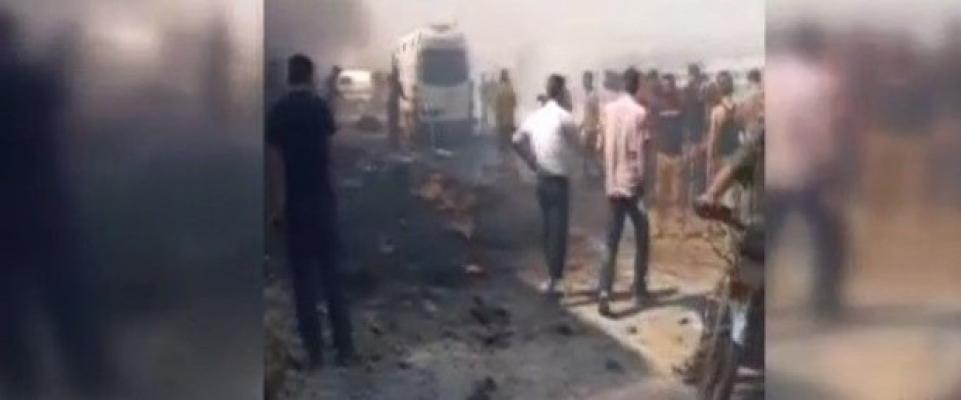 Afrin'de patlama: 8 ölü