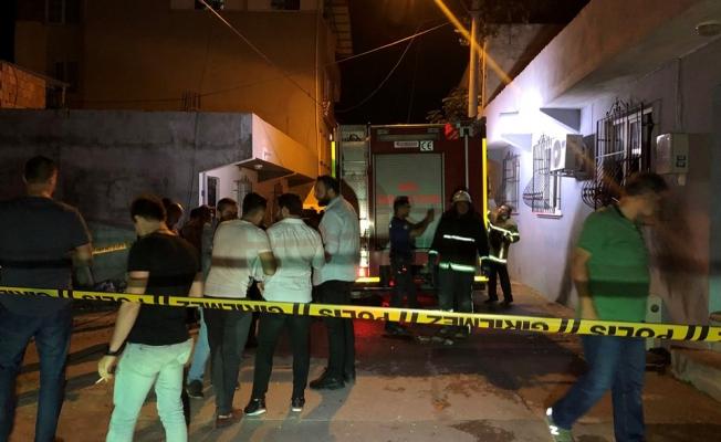 Bursa'da cinayet zanlısının evi kundaklandı