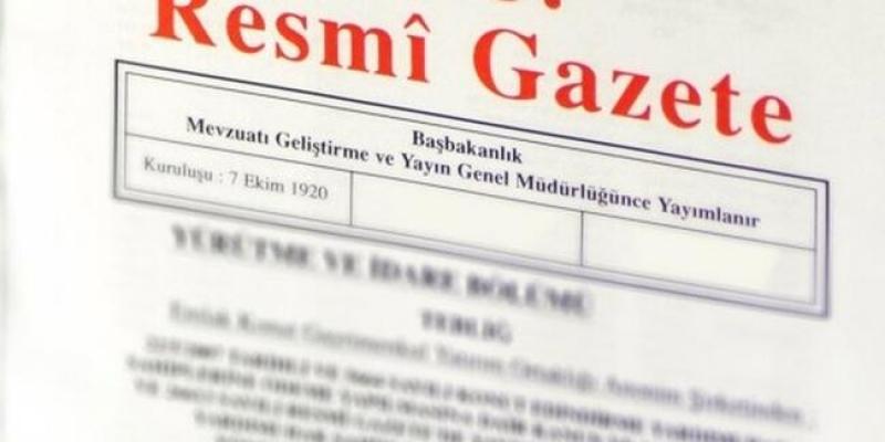 Mülki İdare Amirleri Atama Kararnamesi Resmi Gazete'de