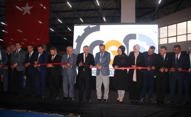 Çerkezköy Endüstriyel Fuarı açıldı