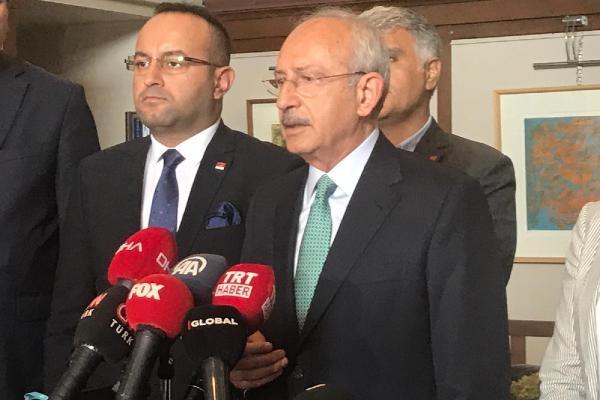 Kılıçdaroğlu gündeme ilişkin açıklamalarda bulundu