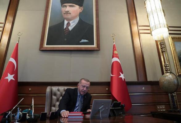 Cumhurbaşkanı Erdoğan'ın harekatın emrini verdiği tarihi an!