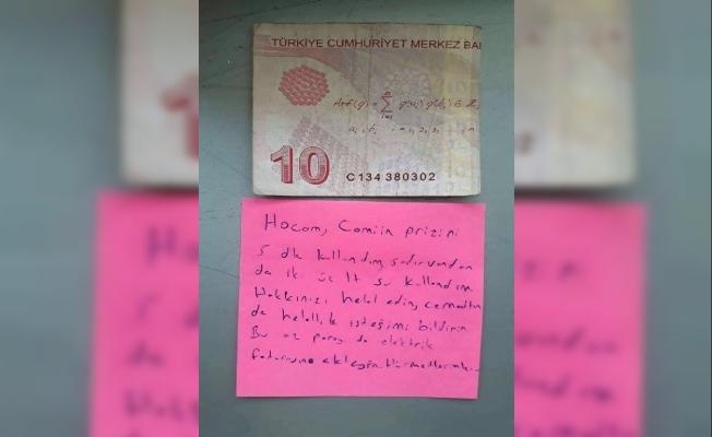 Kırıkkale'den ilginç bir not!