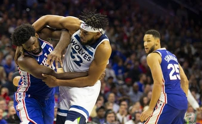 NBA yıldızları birbirine girdi!