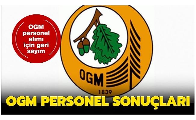 OGM işe alım sonuçları bugün açıklanıyor!