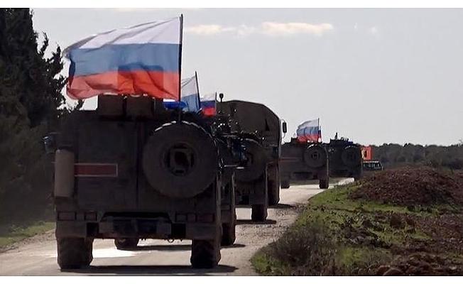 Rusya: 300 askeri polis Suriye'ye gitti .