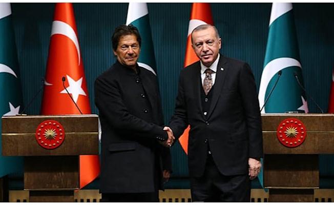 Son dakika... Pakistan Başbakanı İmran Han'dan Cumhurbaşkanı Erdoğan'a destek telefonu