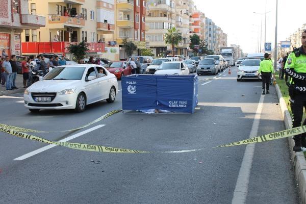 Antalya'da yaşlı kadının feci ölümü!