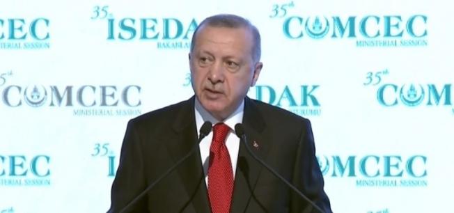 Başkan Erdoğan'dan 35. İSEDAK Toplantısı Açılış Töreninde önemli açıklamalar