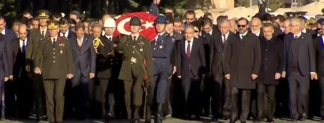 Başkan Erdoğan'ın Anıtkabir ziyareti!