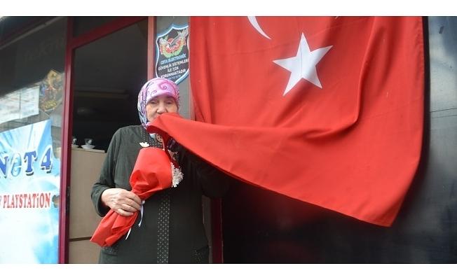 'Bayrak benim milli gururum'