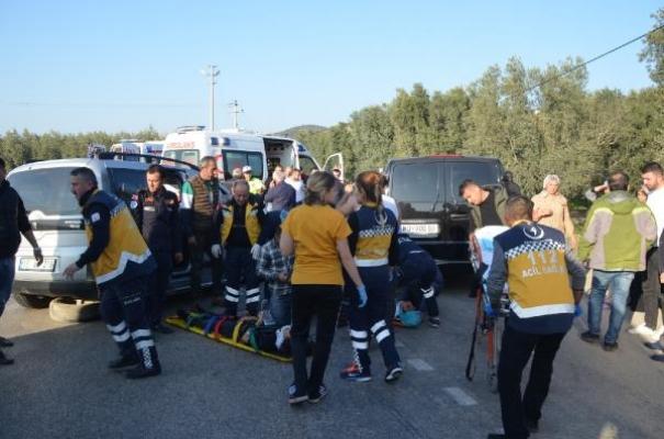 Bursa'nın İznik ilçesinde korkunç kaza!