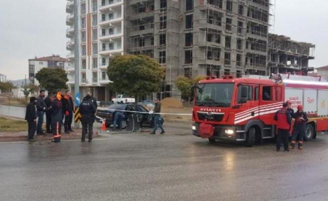 Elazığ'da feci kaza!
