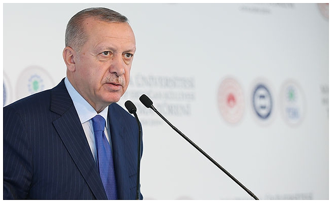 Erdoğan'dan Macron'a  sert tepki