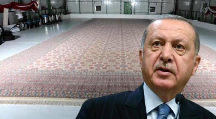 Erdoğan için 29 milyon 420 bin düğüm atıldı!