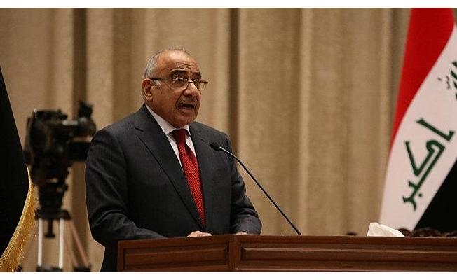 Irak Başbakanı Adil Abdülmehdi istifa etti.