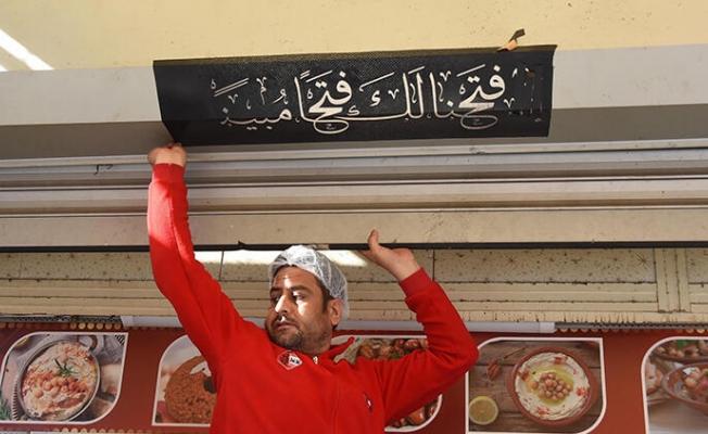 İzmir'de 'Arapça tabela' operasyonu
