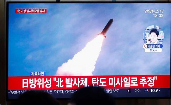 Kuzey Kore'den füze ateşlemesi