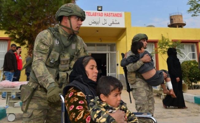 MSB: Tel Abyad Hastanesi onarıldı