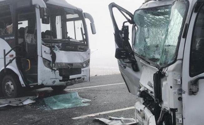 Sarıkamış'ta  feci kaza