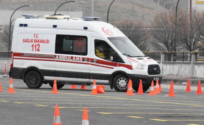 Ambulans şoförleri 'en iyi' olmak için yarıştı