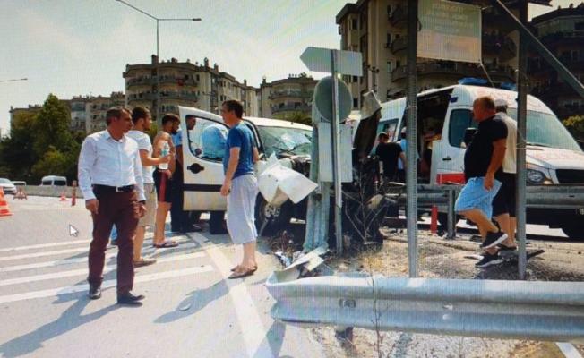 Bursa'da kazada yaralanan kadın eşine dava açtı