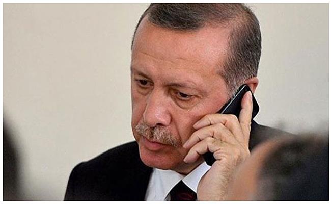 Erdoğan'dan Kral Selman'a taziye telefonu
